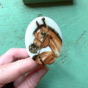 Jewelry - Arabian horse bracelet, horse bracelet, horse cuff